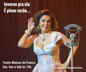Stella Rodrigues - Emilinha- agosto 2017